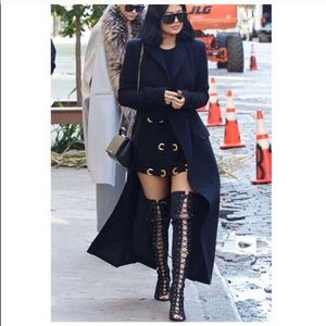 Jeffrey Campbell Tabanca Suede Thigh High Boots